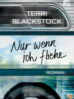 cover image of Nur wenn ich fliehe