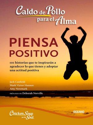cover image of piensa positivo