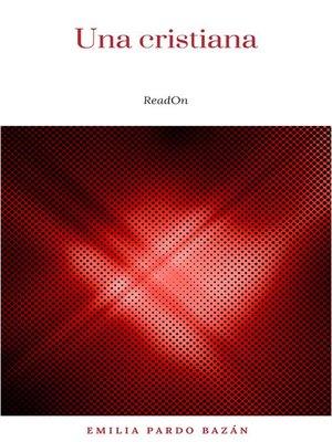 cover image of Una cristiana