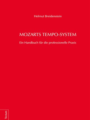cover image of Mozarts Tempo-System