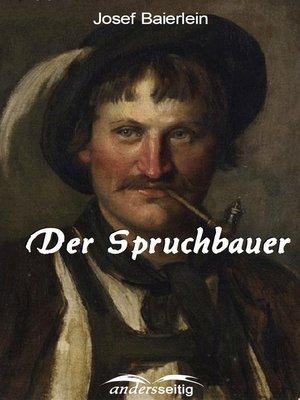 cover image of Der Spruchbauer