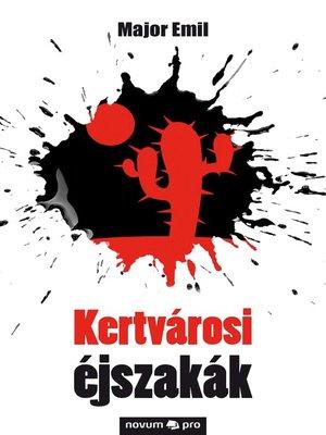 cover image of Kertvárosi éjszakák
