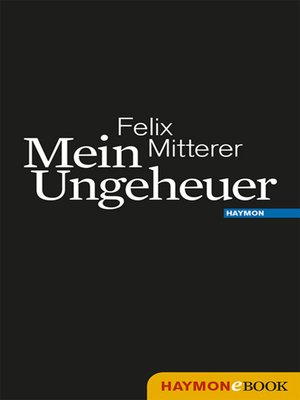 cover image of Mein Ungeheuer