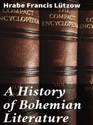 cover image of A History of Bohemian Literature