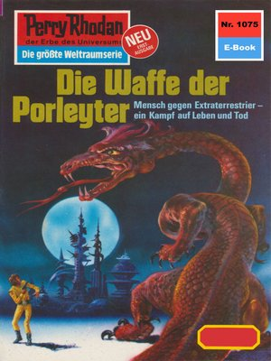 cover image of Perry Rhodan 1075