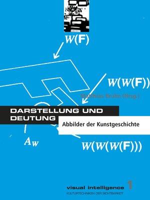 cover image of Darstellung und Deutung