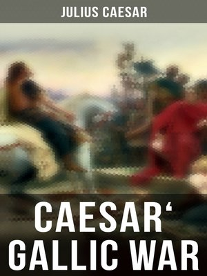 cover image of Caesar' Gallic War
