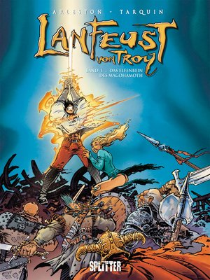 cover image of Lanfeust von Troy. Band 1
