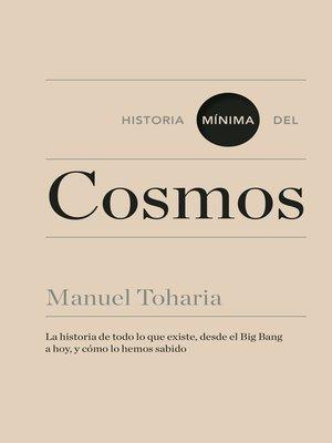 cover image of Historia mínima del cosmos