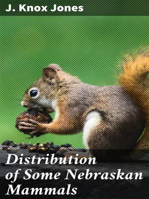 cover image of Distribution of Some Nebraskan Mammals