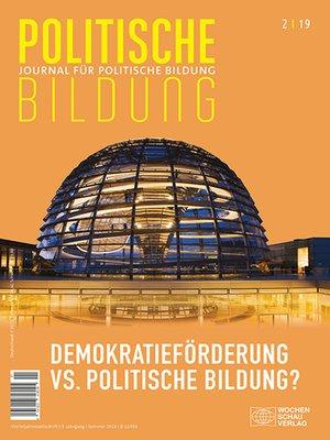 cover image of Demokratieförderung vs. Politische Bildung?