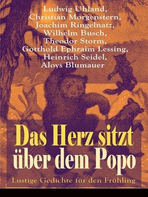 cover image of Das Herz sitzt über dem Popo