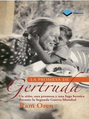 cover image of La promesa de Gertruda