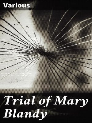 cover image of Trial of Mary Blandy