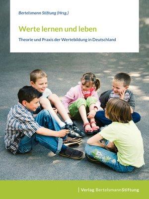 cover image of Werte lernen und leben