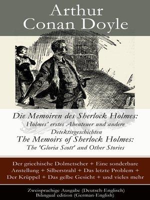 cover image of Die Memoiren des Sherlock Holmes