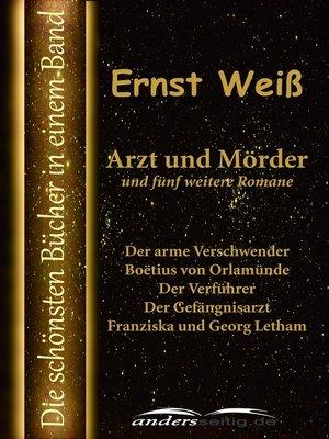 cover image of Arzt und Mörder und fünf weitere Romane