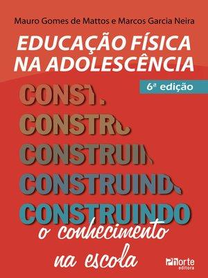 cover image of Educação física na adolescência