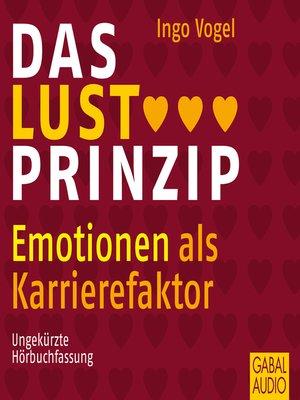 cover image of Das Lust-Prinzip