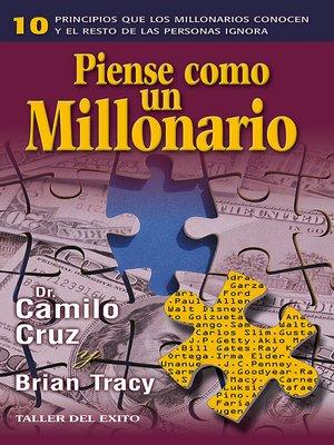 cover image of Piense como un millonario