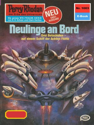 cover image of Perry Rhodan 1003