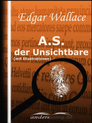 cover image of A.S. der Unsichtbare (mit Illustrationen)