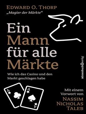 cover image of Ein Mann für alle Märkte