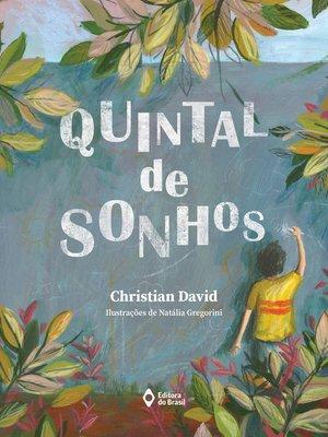 cover image of Quintal de sonhos