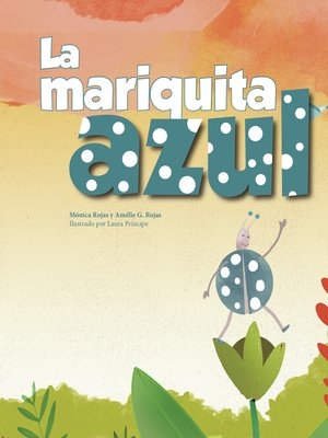 cover image of La mariquita azul
