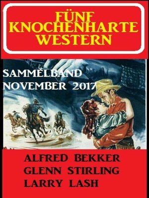 cover image of Fünf knochenharte Western November 2017