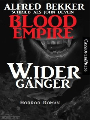 cover image of John Devlin, Blood Empire--Widergänger