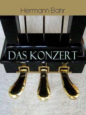 cover image of Das Konzert