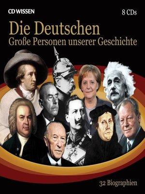 cover image of Große Personen unserer Geschichte