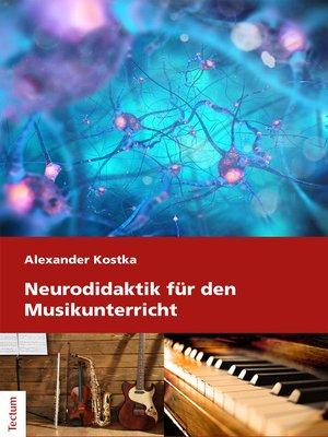 cover image of Neurodidaktik für den Musikunterricht