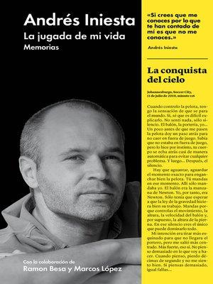 cover image of La jugada de mi vida
