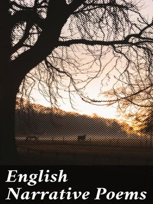 cover image of English Narrative Poems