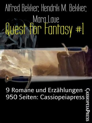 cover image of Quest for Fantasy #1