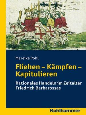 cover image of Fliehen-Kämpfen-Kapitulieren