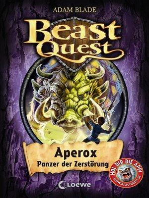 cover image of Beast Quest 48--Aperox, Panzer der Zerstörung
