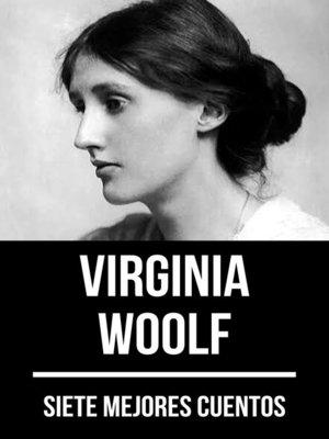 cover image of 7 mejores cuentos de Virginia Woolf