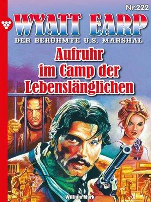 cover image of Wyatt Earp 222 – Western