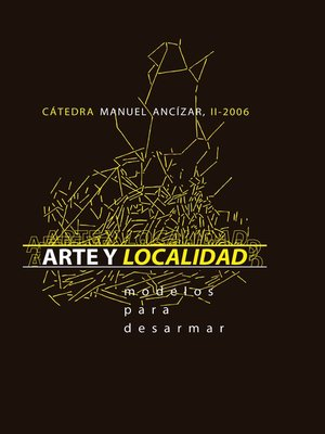 cover image of Arte y localidad. Modelos para desarmar