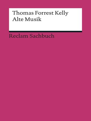 cover image of Alte Musik