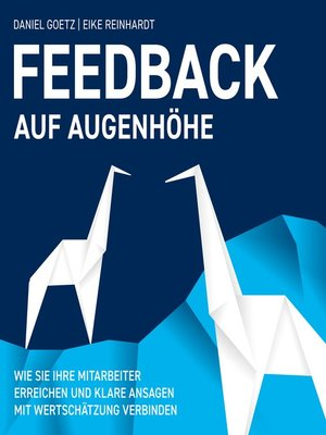 cover image of Feedback auf Augenhöhe