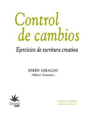 cover image of Control de cambios