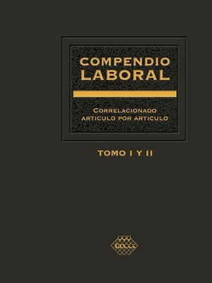 cover image of Compendio Laboral 2016