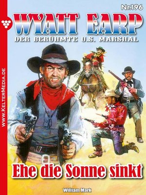 cover image of Wyatt Earp 196 – Western