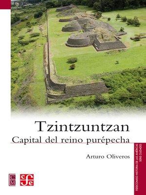 cover image of Tzintzuntzan