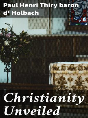 cover image of Christianity Unveiled