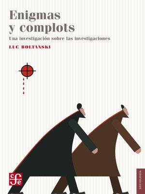 cover image of Enigmas y complots